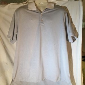 Soft and silky feeling gold shirt by Peter Millard